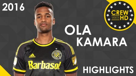 LA Galaxy acquire Ola Kamara from Columbus Crew SC