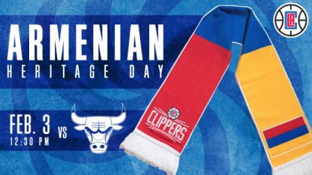 The Clippers will take on the Bulls during Armenian Heritage Night.