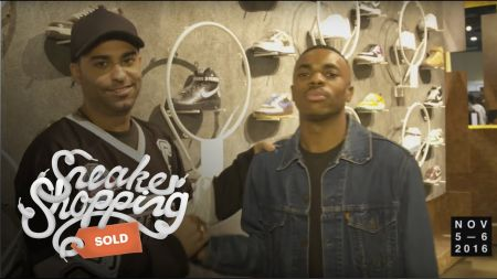 Vince Staples collaborates with Converse for new sneaker line