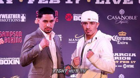 Boxing: Danny Garcia battles former champ Brandon Rios in Las Vegas