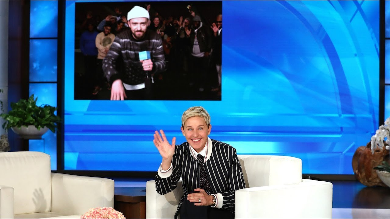 Watch Justin Timberlake sing 'Happy Birthday' to Ellen DeGeneres