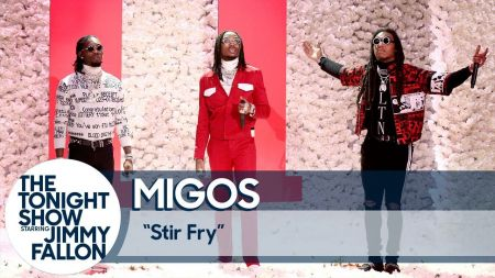 Migos drops 'Culture II' and performs 'Stir Fry' on 'The Tonight Show' (Watch)