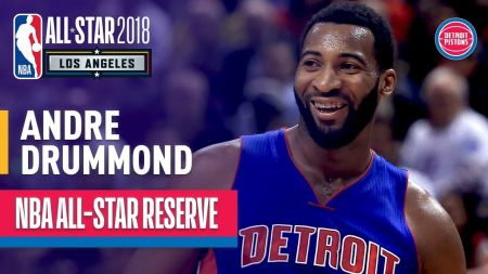 Andre Drummond named as 2018 NBA All-Star Game replacement