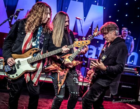 "ANAHEIM, CA - JANUARY 27: The inaugural Ultimate ""NAMM"" Night brings some of rock music's biggest names to The 2018 NAMM Show for an extraor"