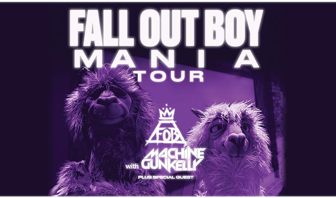 Image result for Fall Out Boy Machine Gun Kelly Tour