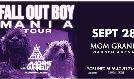 Fall Out Boy: The M A N I A Tour with Machine Gun Kelly tickets at MGM Grand Garden Arena in Las Vegas