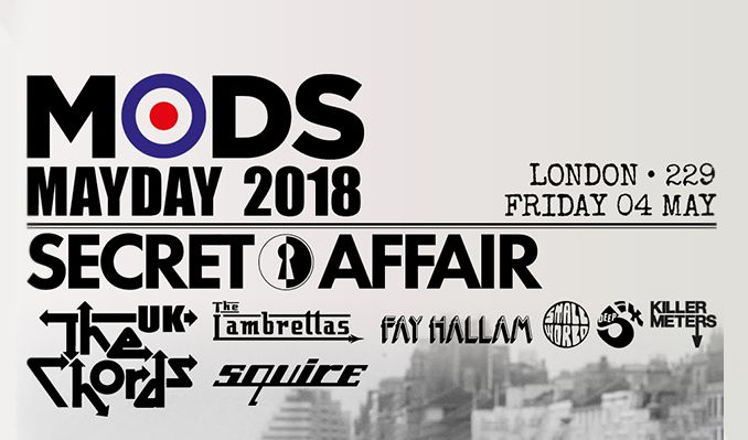Mods Mayday 2018 tickets at 229 The Venue, London