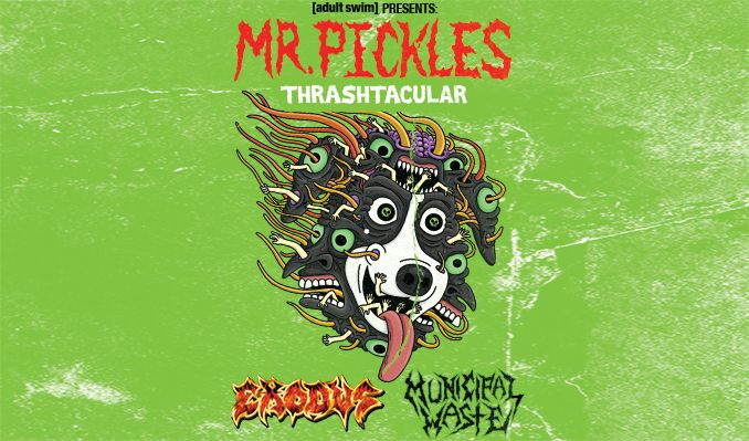 Mr. Pickles Thrash-tacular ft. Exodus and Municipal Waste tickets at The Regency Ballroom in San Francisco