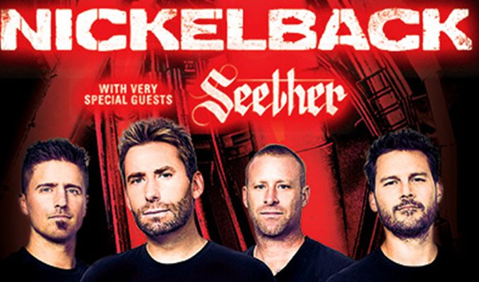 Nickelback tickets at The SSE Hydro, Glasgow