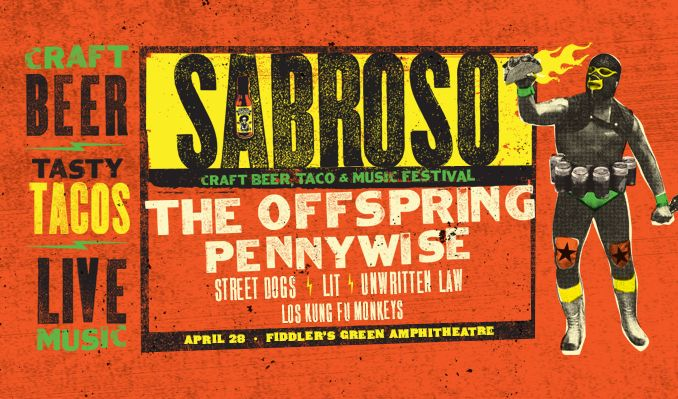 Sabroso Craft Beer, Taco & Music Festival featuring The Offspring tickets at Fiddler's Green Amphitheatre in Greenwood Village