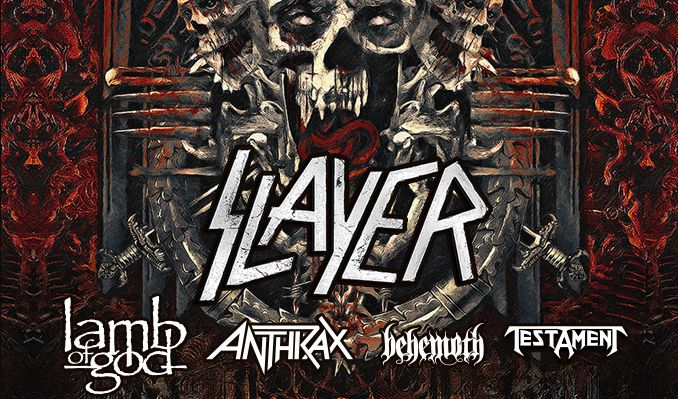 Slayer tickets at The Bomb Factory in Dallas
