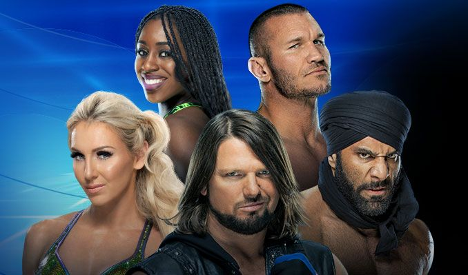 WWE Smackdown LIVE tickets in Los Angeles at STAPLES Center on Tue
