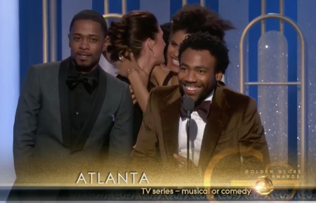 Watch: Donald Glover thanks Migos in acceptance speech at Golden Globes