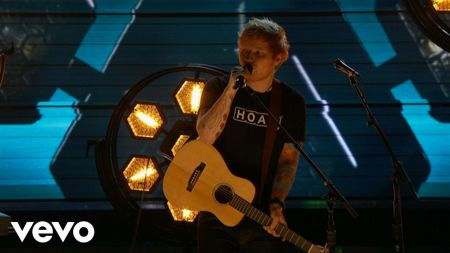Ed Sheeran couldn't get into his label's Grammys afterparty, again
