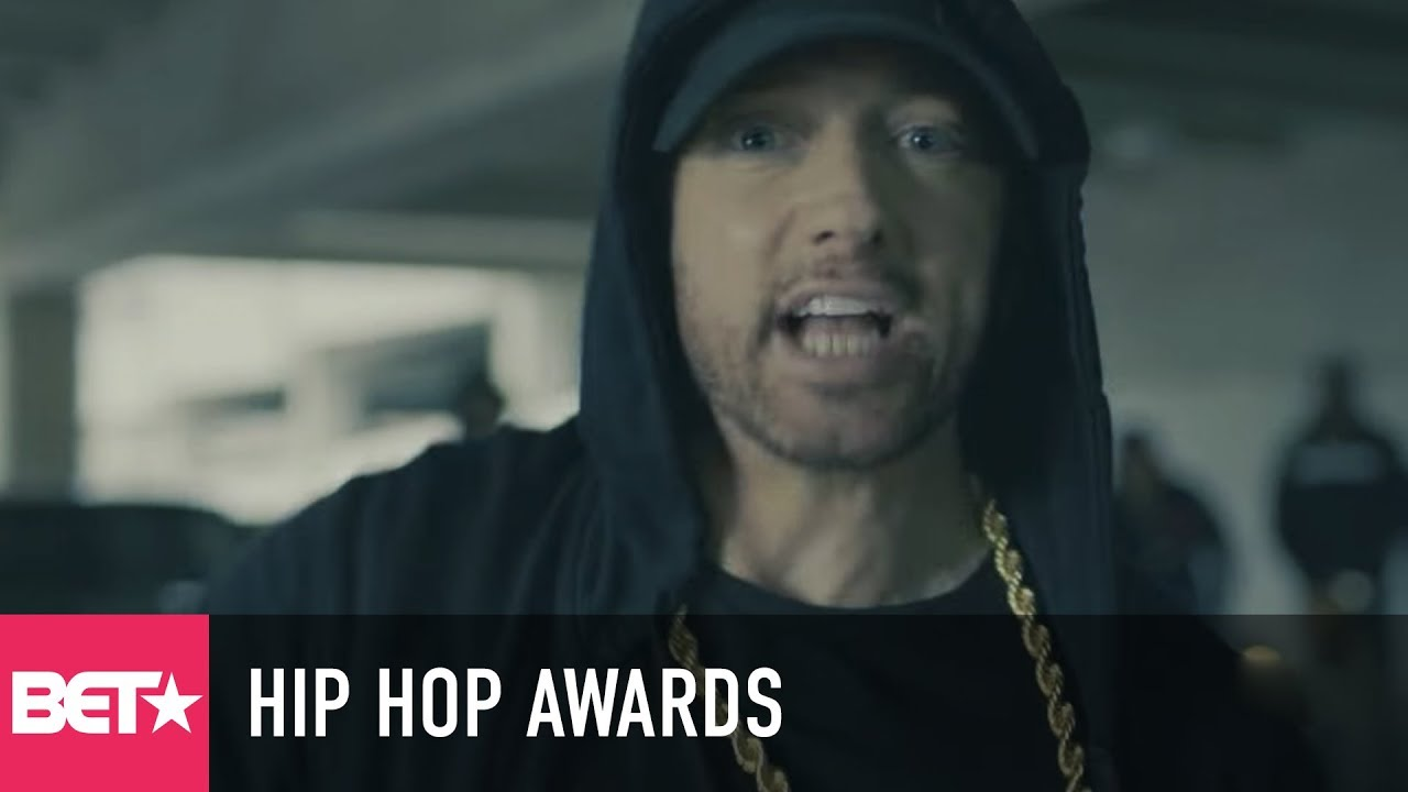 0142e84f996 Watch  Eminem is back with politically charged freestyle before BET Hip-Hop  Awards