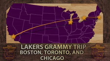 Top 5 best Grammy road trips by the Lakers