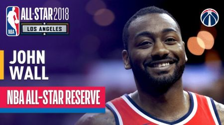 John Wall to miss All-Star Game with knee injury