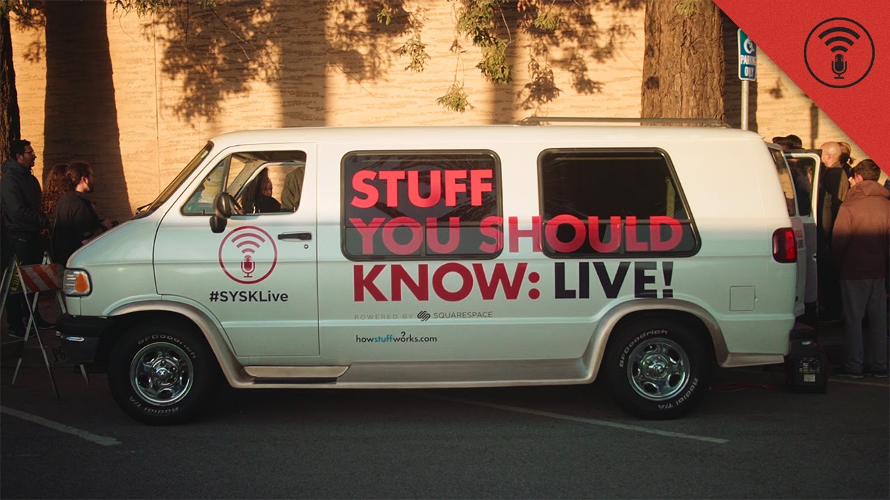 Popular podcast 'Stuff You Should Know' bringing their live show to the Gothic