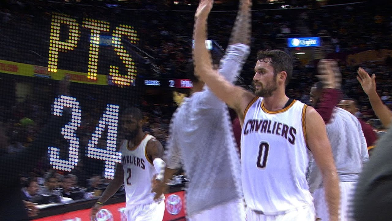 c160912a8a2 Kevin Love to miss NBA All-Star Game with broken hand - AXS