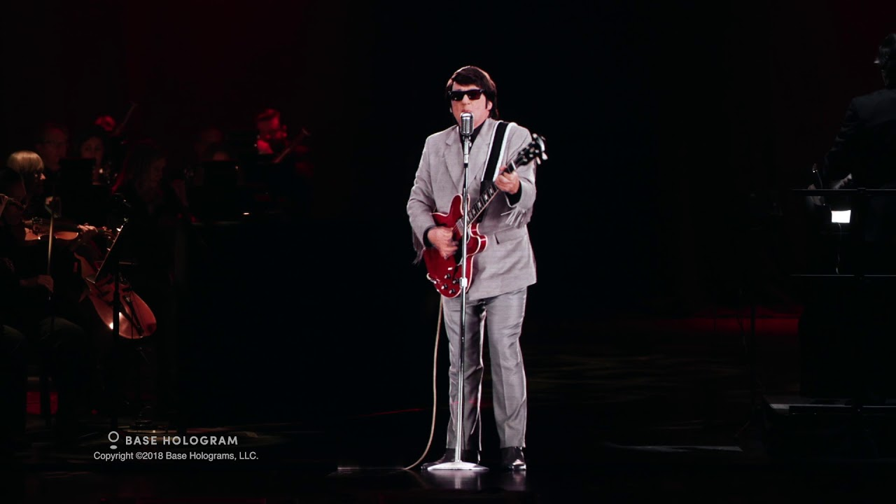 Watch Roy Orbison's Hologram Sing 'Oh, Pretty Woman'