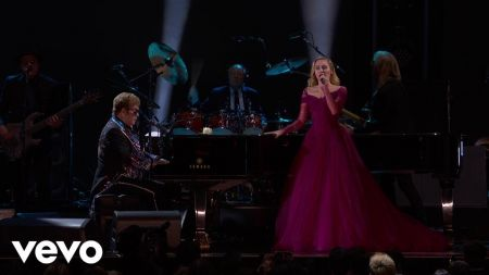 Elton John and Miley Cyrus make a stand at the Grammys