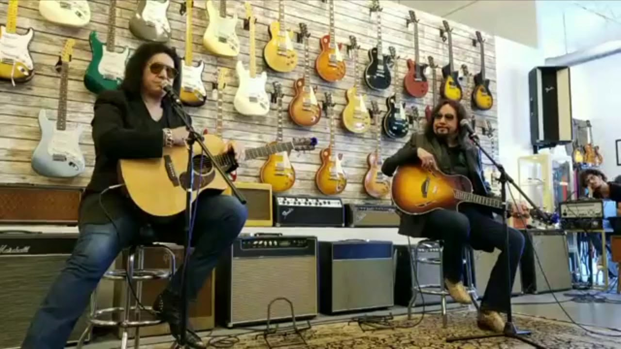 Watch Gene Simmons and Ace Frehley of Kiss play 'Cold Gin' and The Beatles' 'Day Tripper' in new video