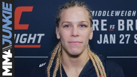 UFC star Katlyn Chookagian interested in WWE, says she 'always wanted' to be a pro wrestling superstar