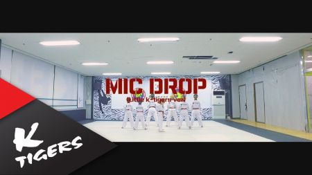 Little K-tigers taekwondo break it down in cover of 'Mic Drop' from BTS