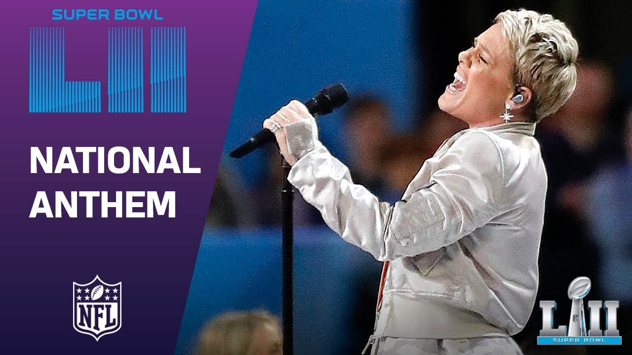 P!nk nails the National Anthem at Super Bowl LII despite the flu