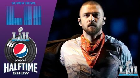 Justin Timberlake pays tribute to Prince in career-spannig Super Bowl Halftime Show