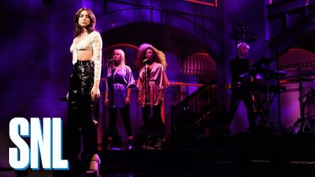 Dua Lipa shows stunning versatility with two contrasting SNL performances