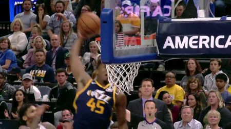 Donovan Mitchell named as injury replacement for NBA Dunk Contest