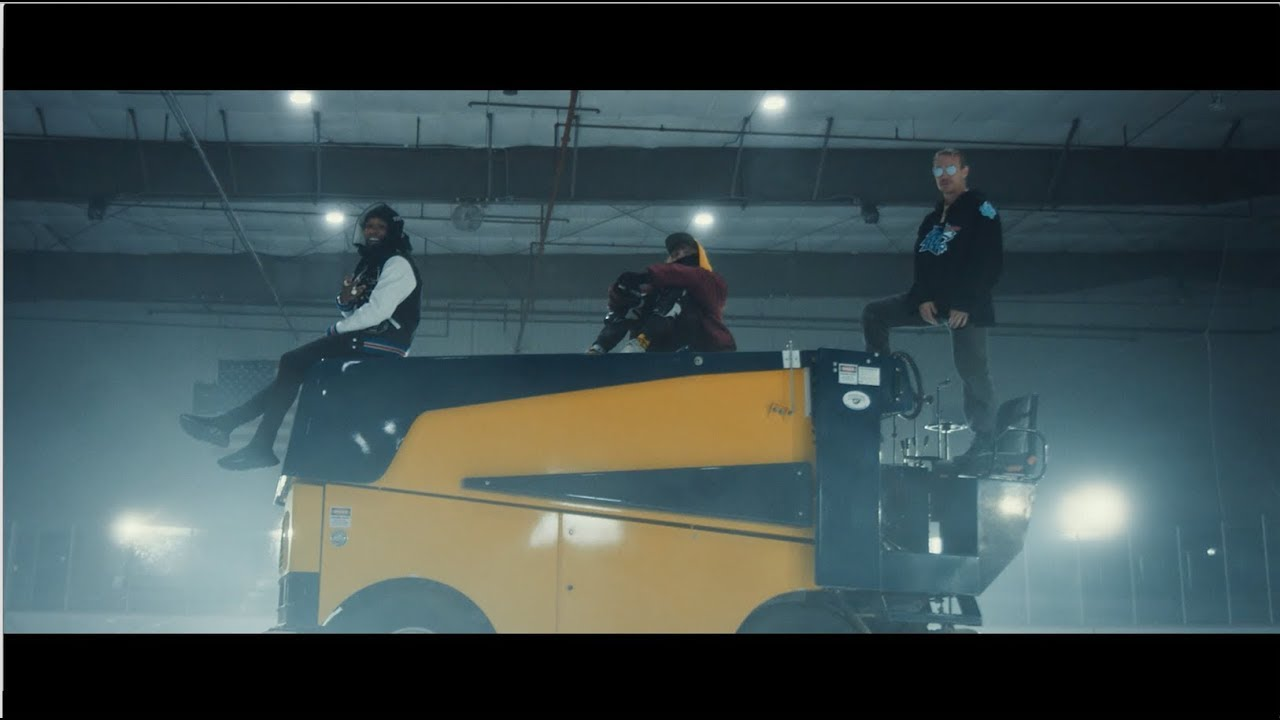 Watch: Cashmere Cat, Major Lazer and Tory Lanez hit the ice for 'Miss You' video
