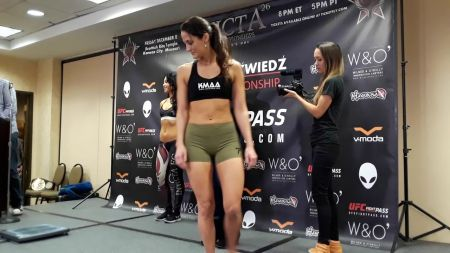 Invicta FC 28's Kay Hansen 'loves' knowing she's youngest to win under promotion's banner