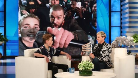 Watch Justin Timberlake reconnect with Super Bowl selfie kid on 'Ellen'