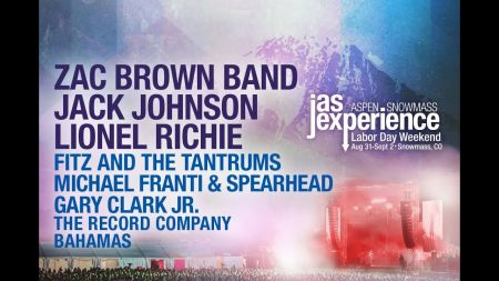 Jack Johnson joins JAS Labor Day Experience; single-day tickets on sale now