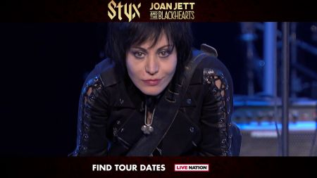Styx, Joan Jett & the Blackhearts to co-headline summer tour