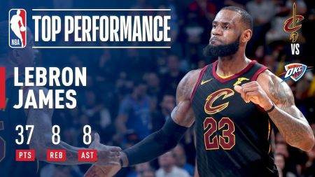 Rejuvenated LeBron James making MVP push