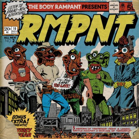 Exclusive: The Body Rampant premiere new album 'RMPNT'