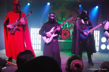 Tribute bands Galactic Empire and Mac Sabbath rock Cleveland