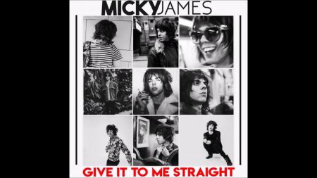 Listen to Micky James' excellent debut single 'Give It To Me Straight'