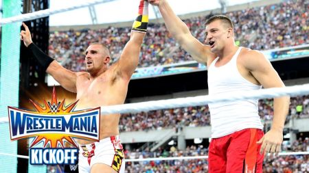 WWE considering offering Rob Gronkowski a contract similar to Ronda Rousey's