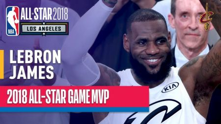 LeBron James leads team to All-Star Game win