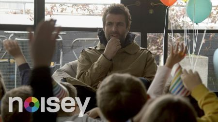 Watch: Liam Gallagher handles tough interrogation questions from children