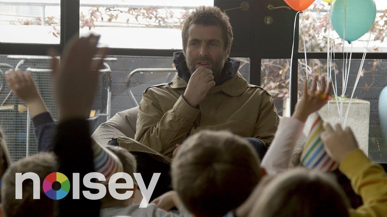 Watch: Liam Gallagher handles tough interrogation questions from children