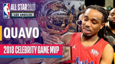 Quavo takes top honors in NBA All-Star Celebrity Game