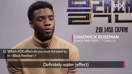 4 reasons to see 'Black Panther' in 4DX