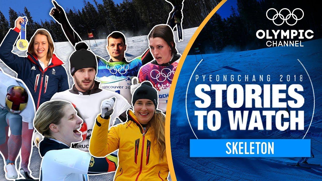 2018 Olympic winners: Skeleton