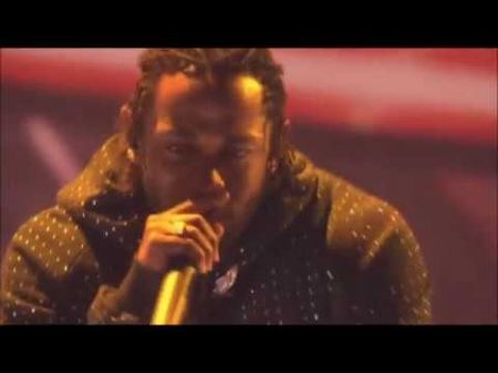 Watch Rich the Kid smash a Lamborghini during Kendrick Lamar's performance at the 2018 BRIT Awards