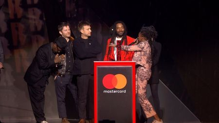Gorillaz win first BRIT Award during 2018 ceremony